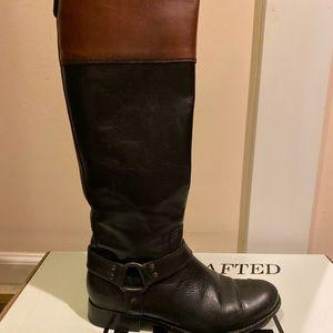 Frye 7.5 Philip whiskey Ring boot